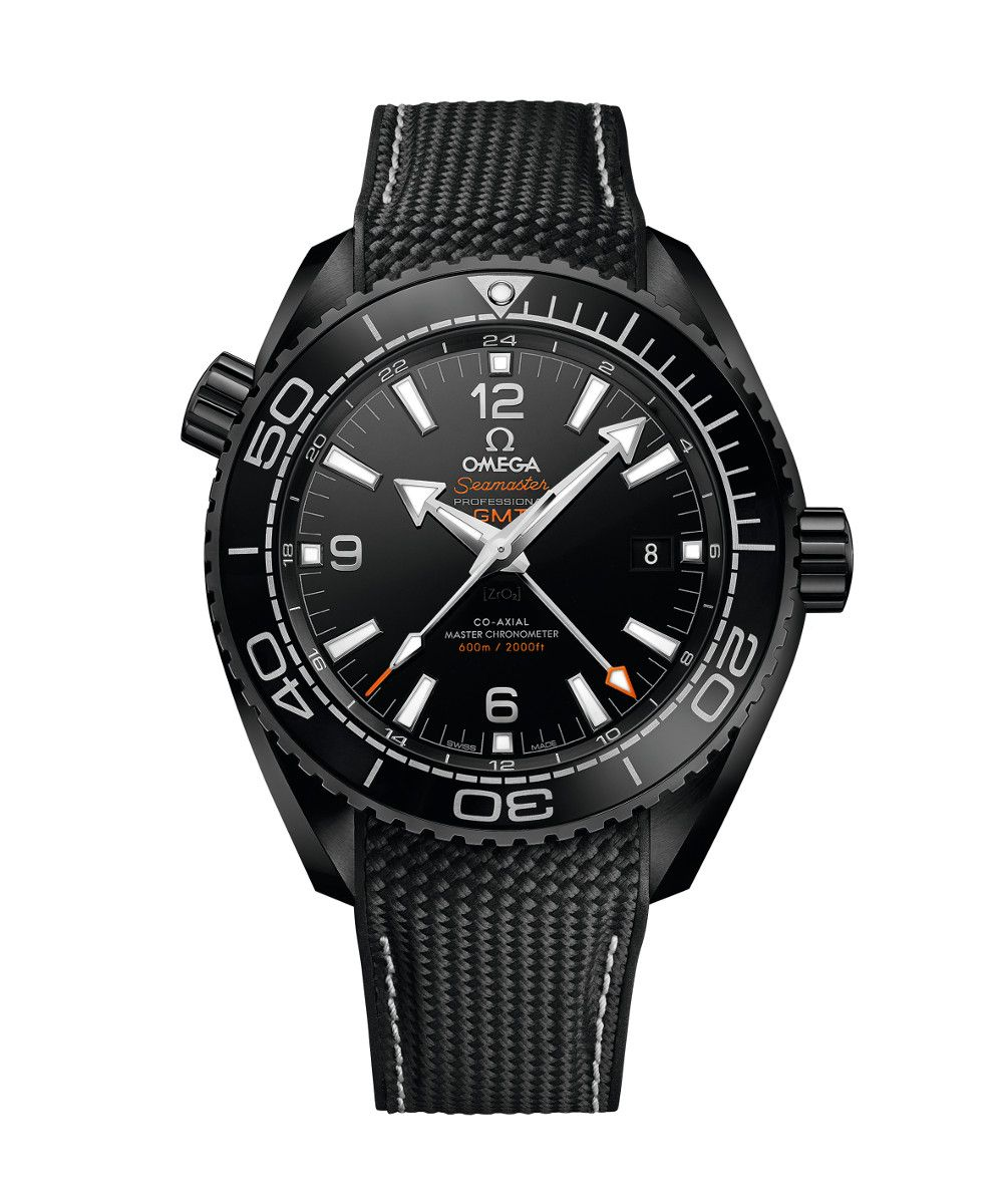 Omega Seamaster Planet Ocean 600M Co-Axial Master Chronometer GMT 45,5 mm