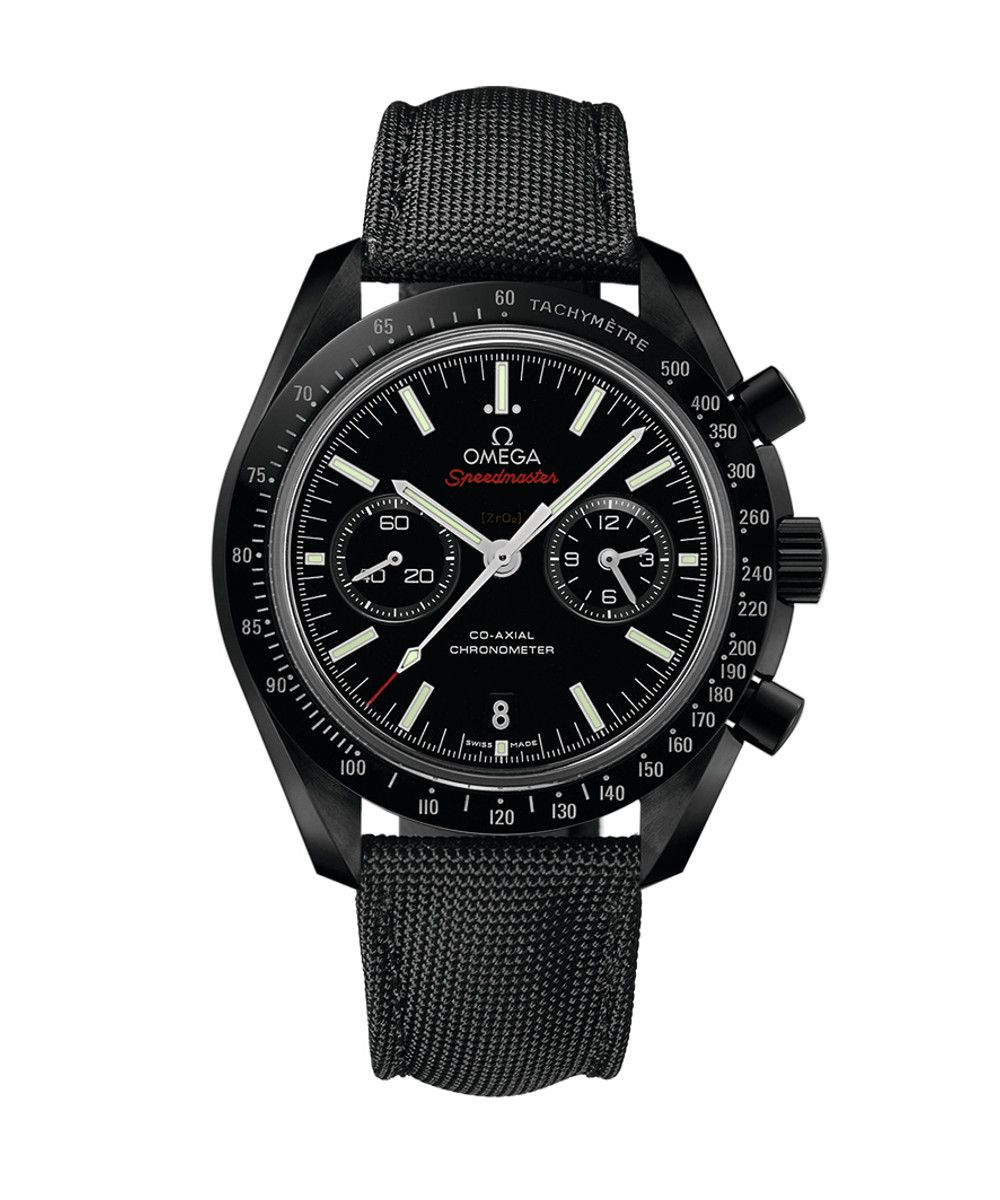 Omega Speedmaster Moonwatch Dark Side of the Moon Co-Axial Chronograph