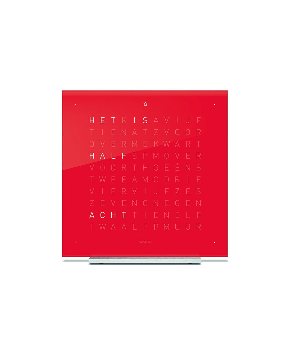 QlockTwo Touch Pure Acryl Cherry Cake DE