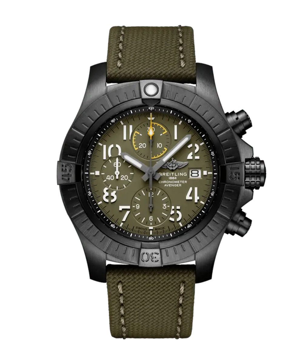 Breitling Super Avenger Chronograph 45 Night Mission