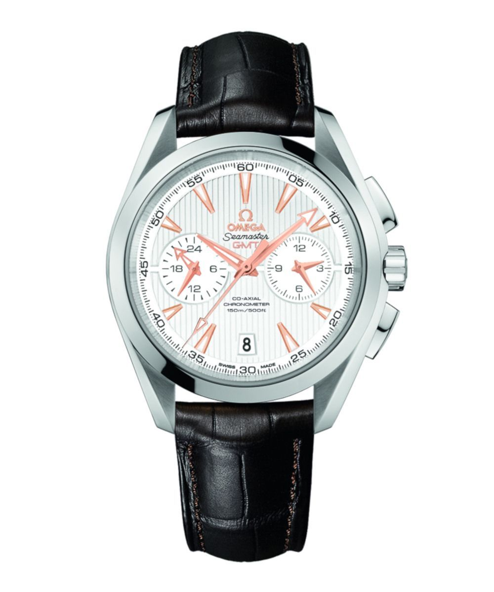 Omega Seamaster Aqua Terra 150M Co-Axial GMT Chronograph 43 mm