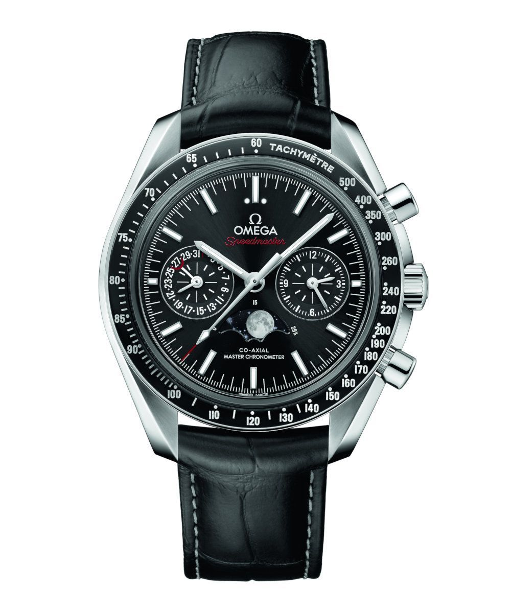 Omega Speedmaster Moonwatch Co-Axial Master Chronometer Moonphase Chronograph