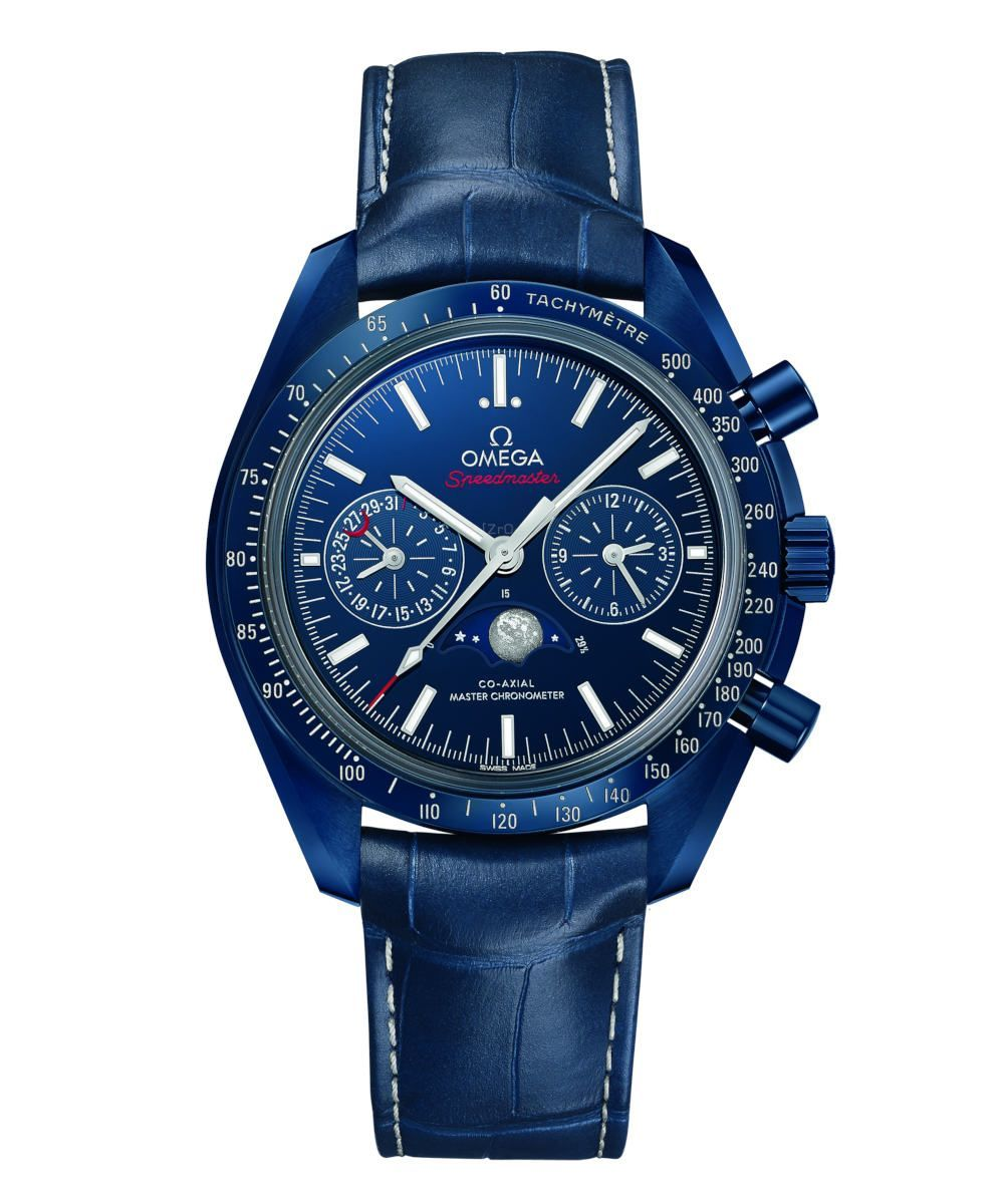 Omega Speedmaster Moonwatch Co-Axial Master Chronometer Moonphase Chronograph 44