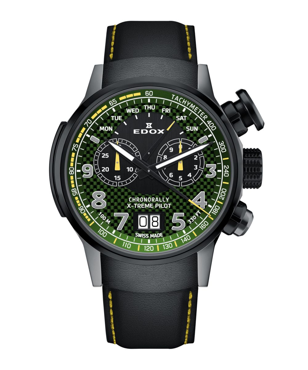 Edox Chronorally X-treme Pilot Limited Edition