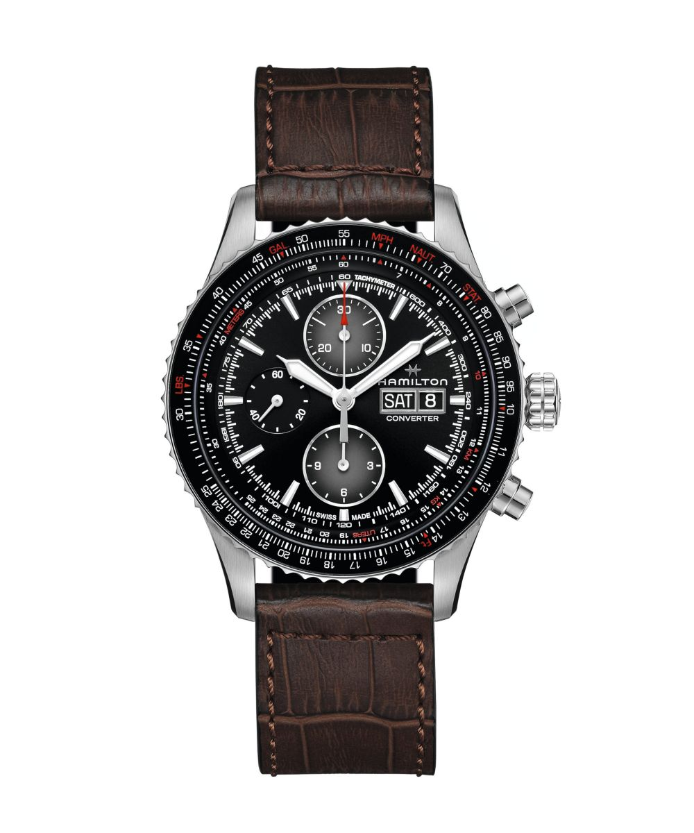 Hamilton Khaki AviationConverter Auto Chrono