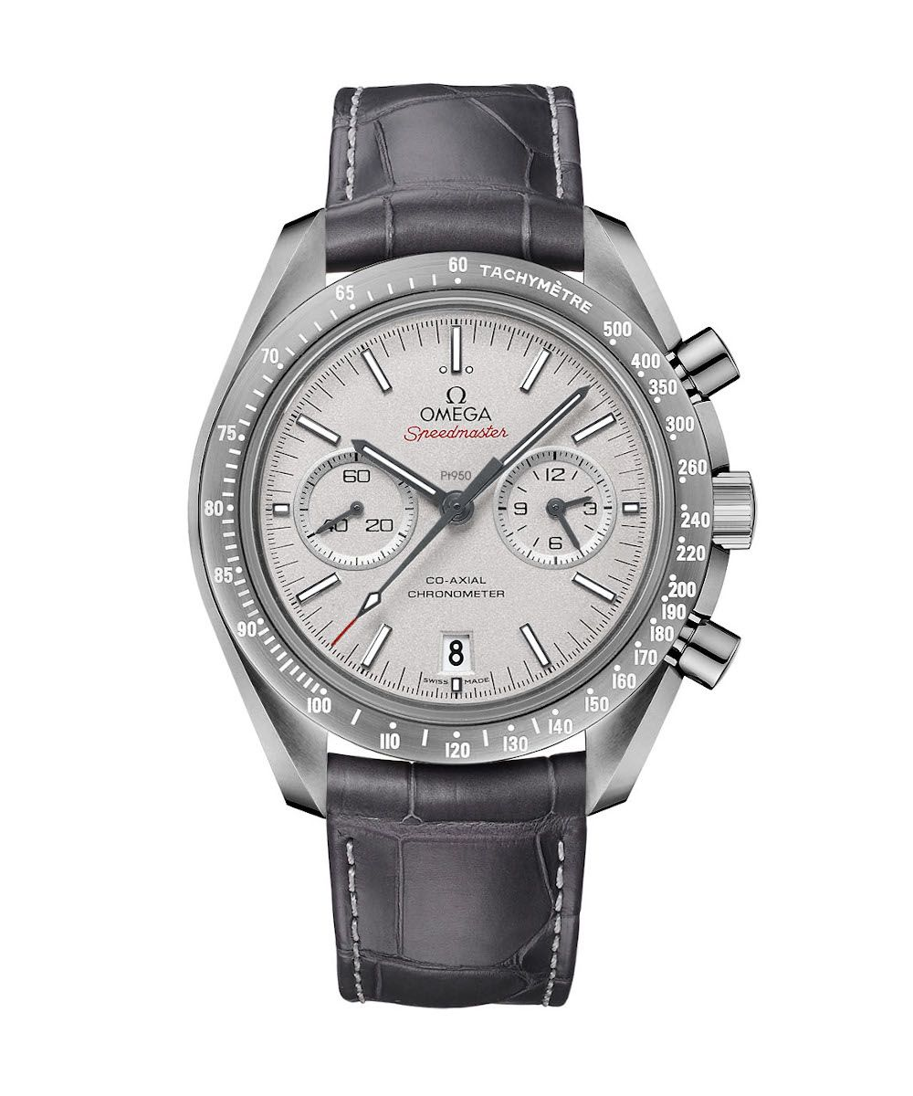 Omega Speedmaster Moonwatch Grey Side of the Moon Co-Axial Chronograph - 16966