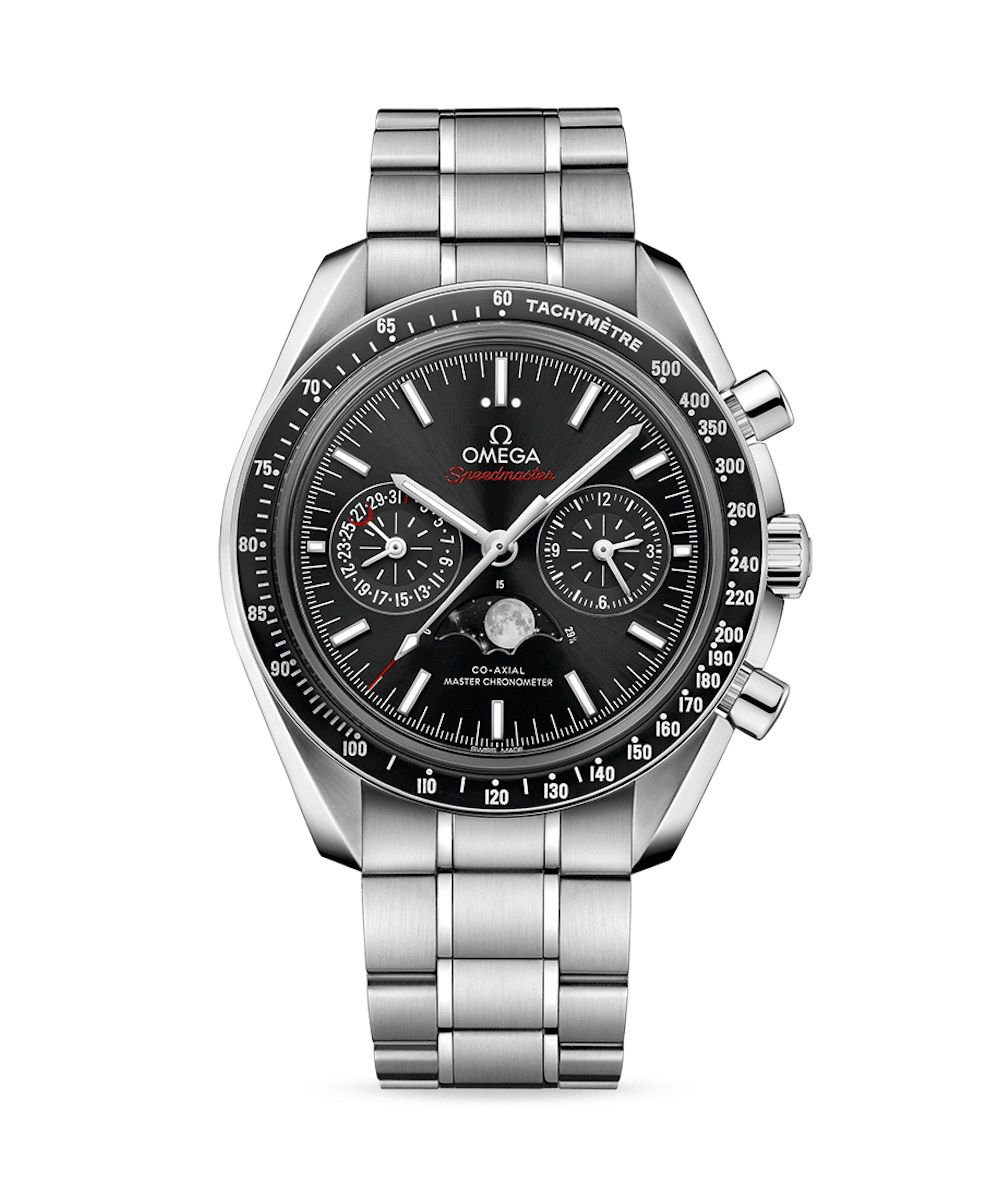 Omega Speedmaster Moonwatch Co-Axial Master Chronometer Moonphase Chronograph - 19539