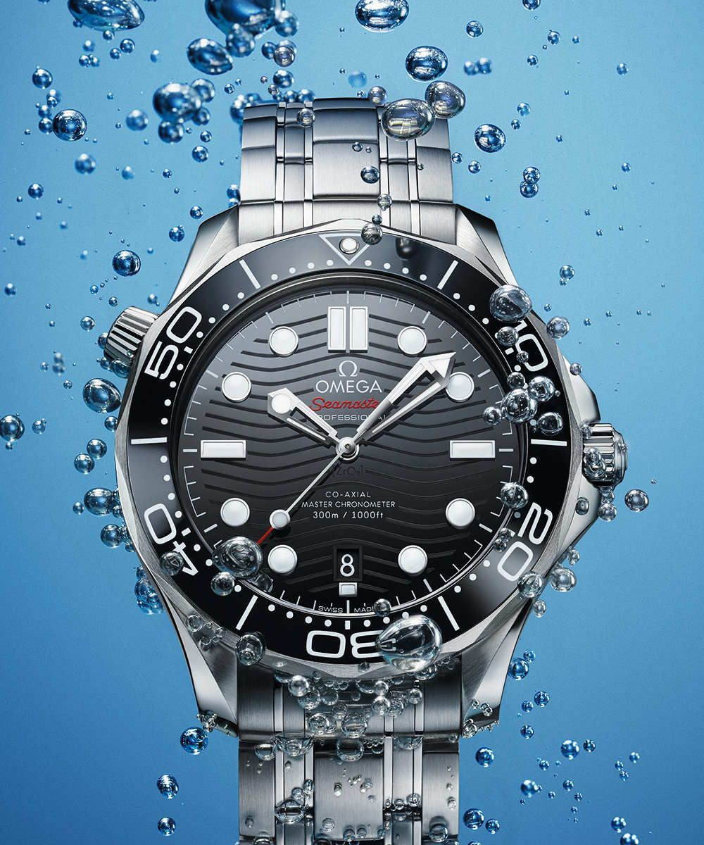 Omega Seamaster Diver 300M Co-Axial Master Chronometer 42 mm - 210.30.42.20.01.001 Motiv