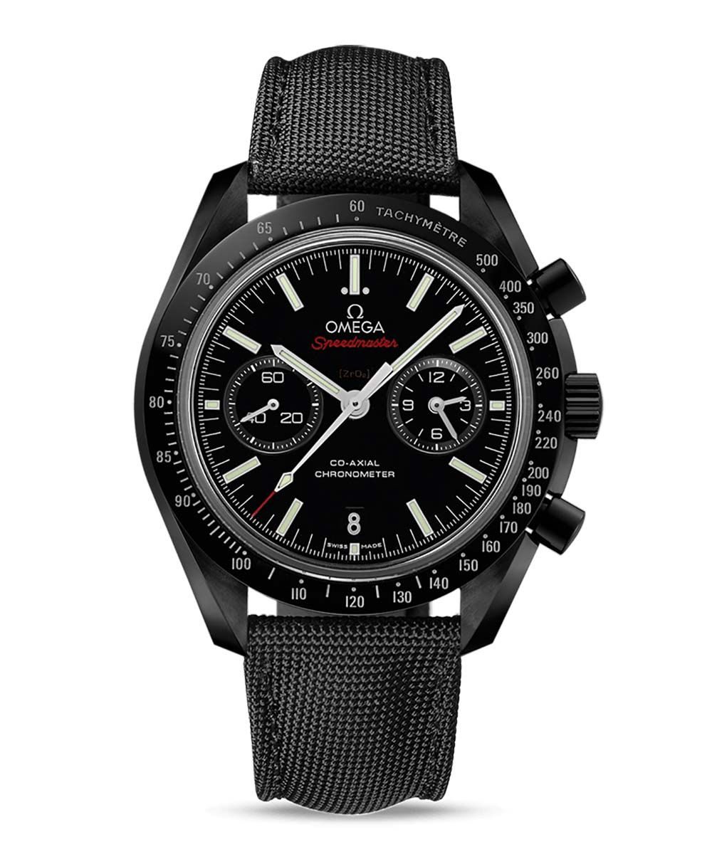 Omega Speedmaster Moonwatch Dark Side of the Moon Co-Axial Chronograph - 311.92.44.51.01.007