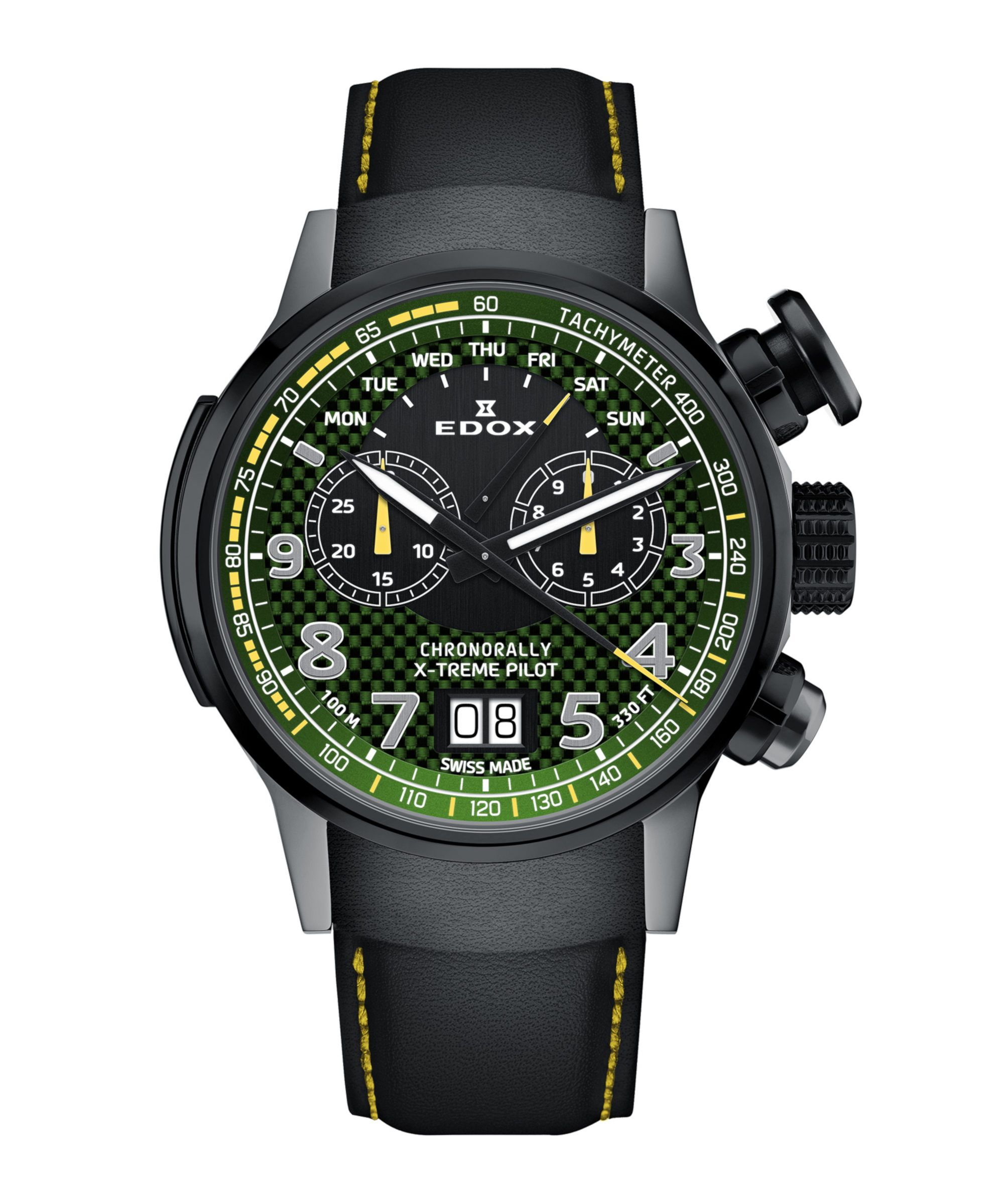 Edox Chronorally X-treme Pilot Limited Edition - 38001_TINGN_V3