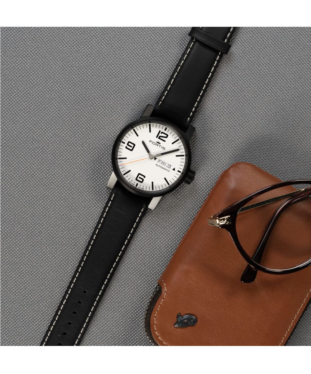 Fortis Spacematic Stealth White - 5 623.18.12