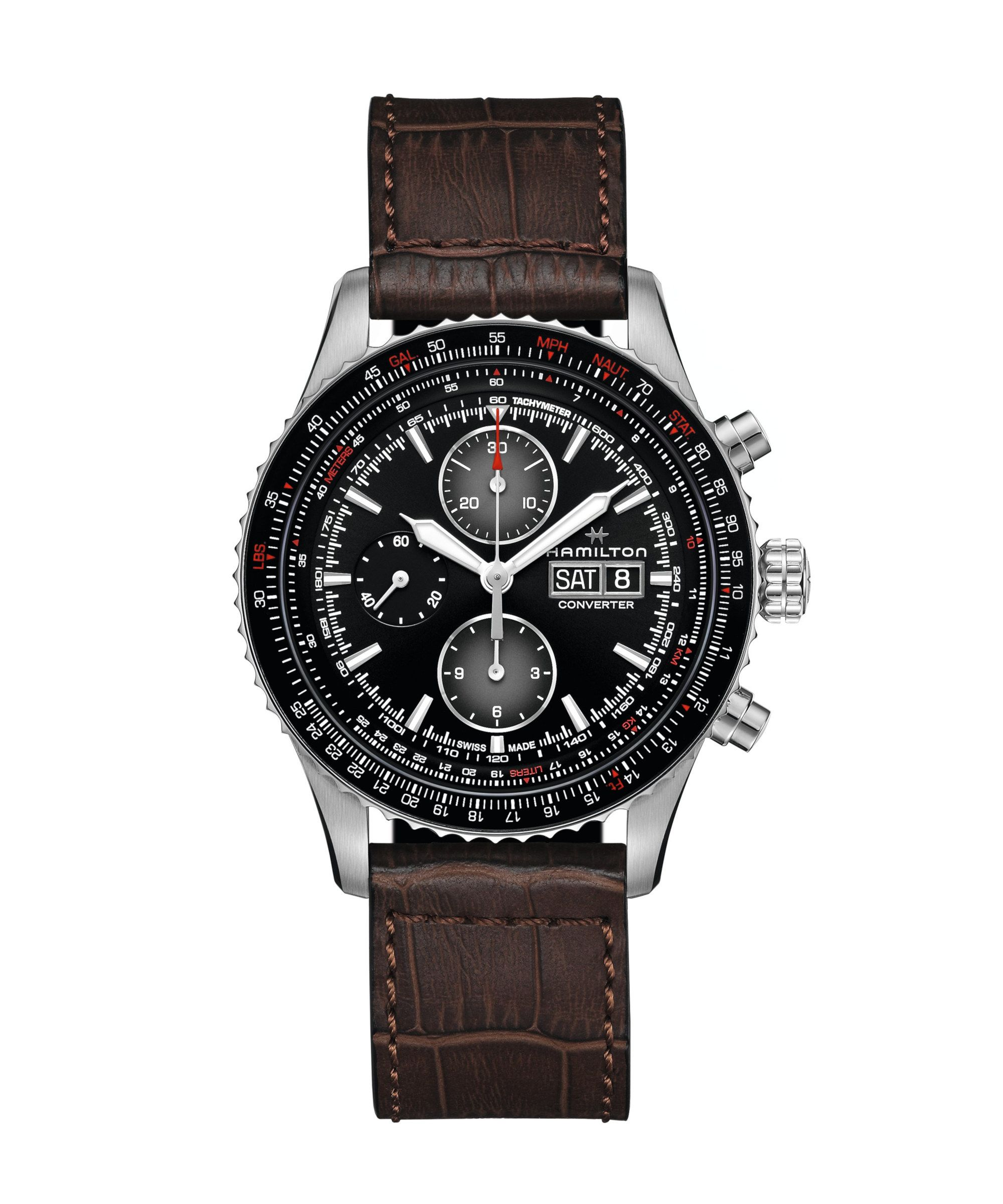 Hamilton Khaki AviationConverter Auto Chrono - H76726530
