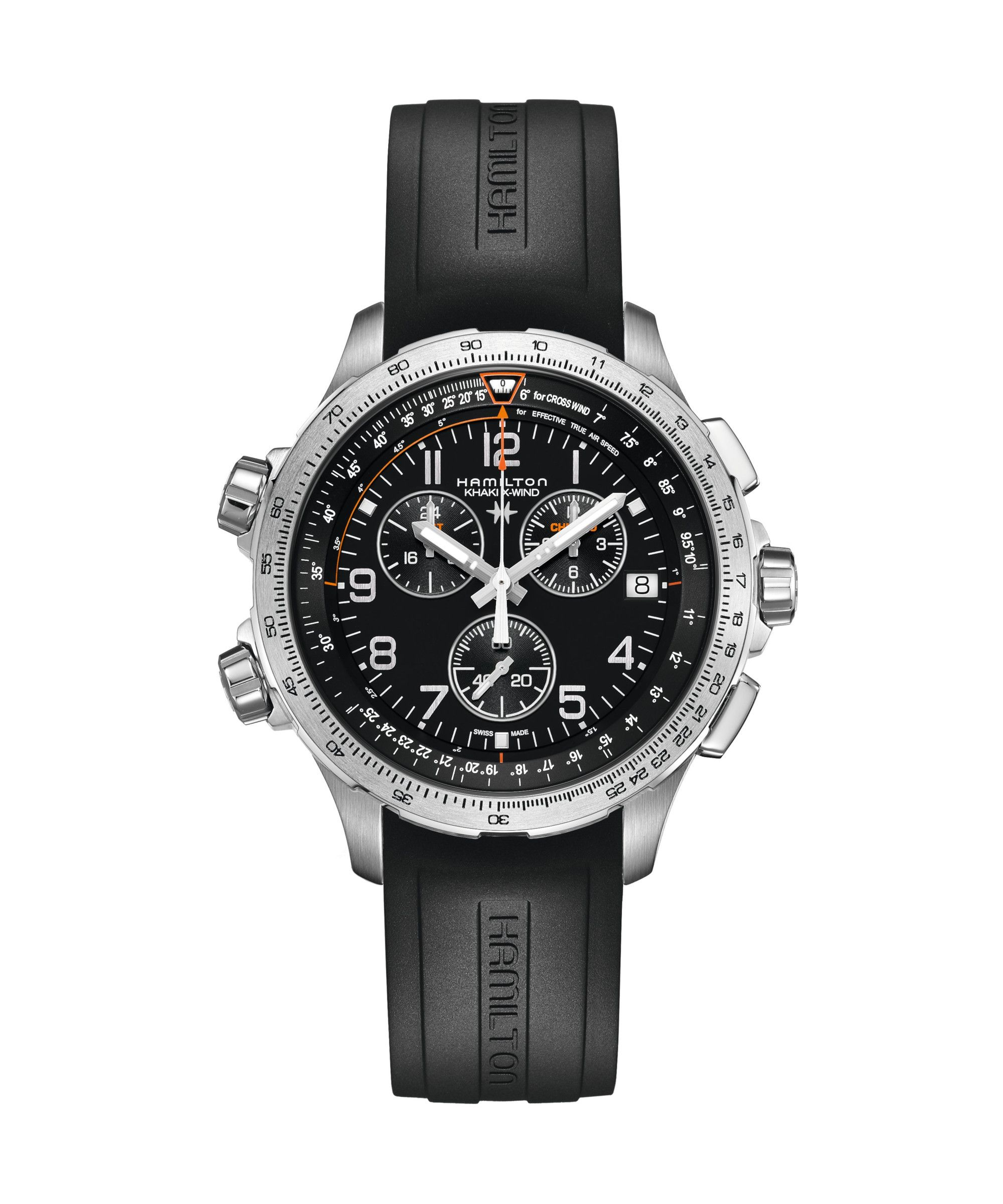 Hamilton Khaki Aviation X-Wind GMT Chrono Quartz - H77912335