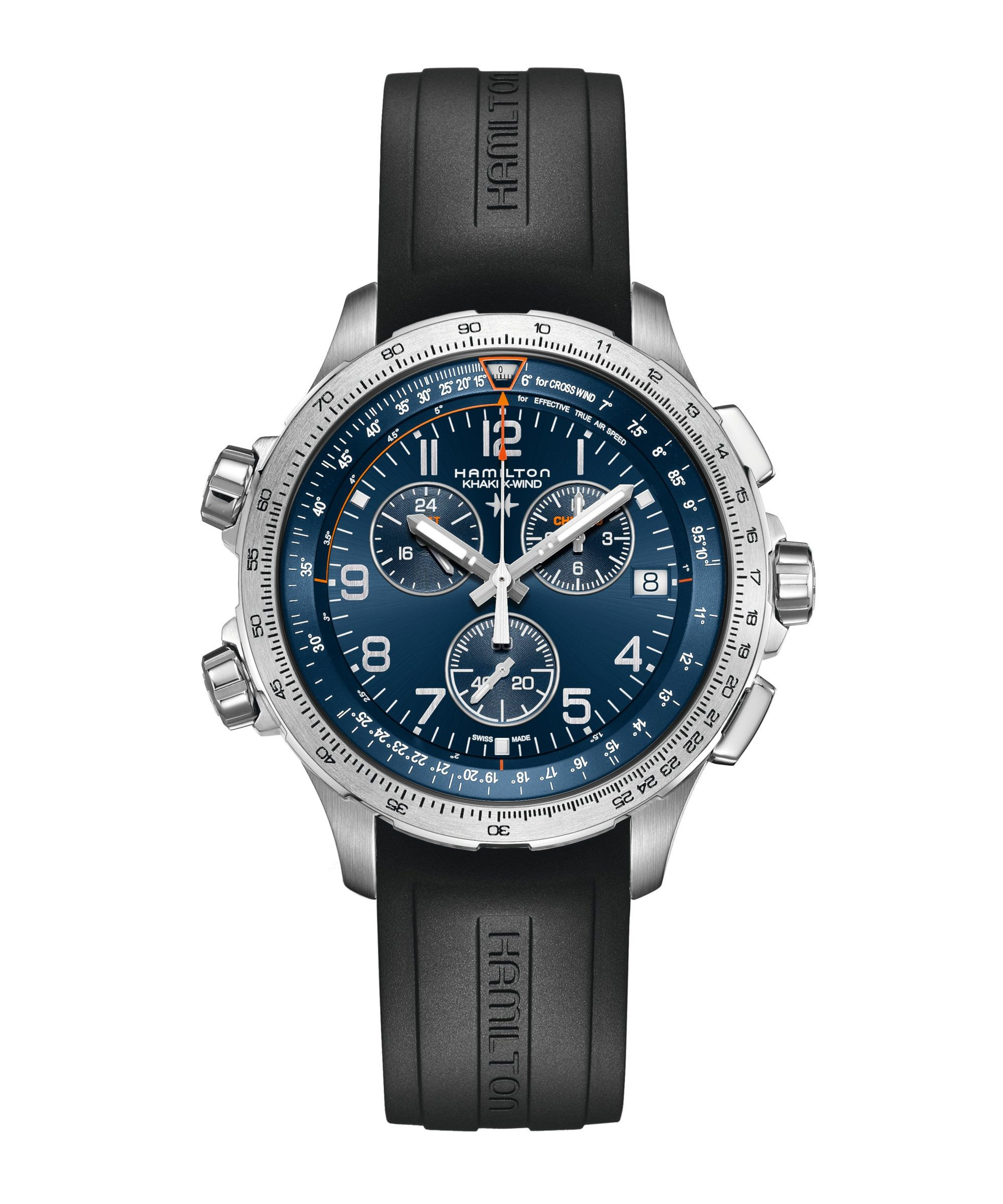 Hamilton Khaki Aviation X-Wind GMT Chrono Quartz - H77922341