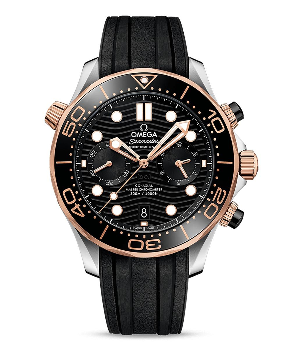 Omega Seamaster Diver 300M Co-Axial Master Chronometer Chronograph 44mm - Omega_21022445101001