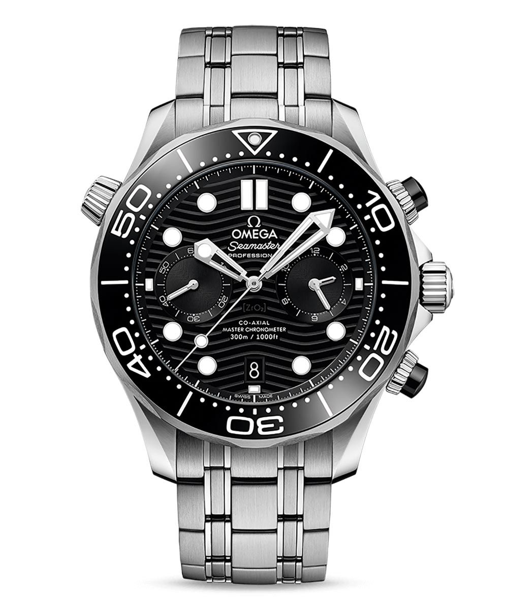 Omega Seamaster Diver 300M Co-Axial Master Chronometer Chronograph 44mm - Omega_21030445101001