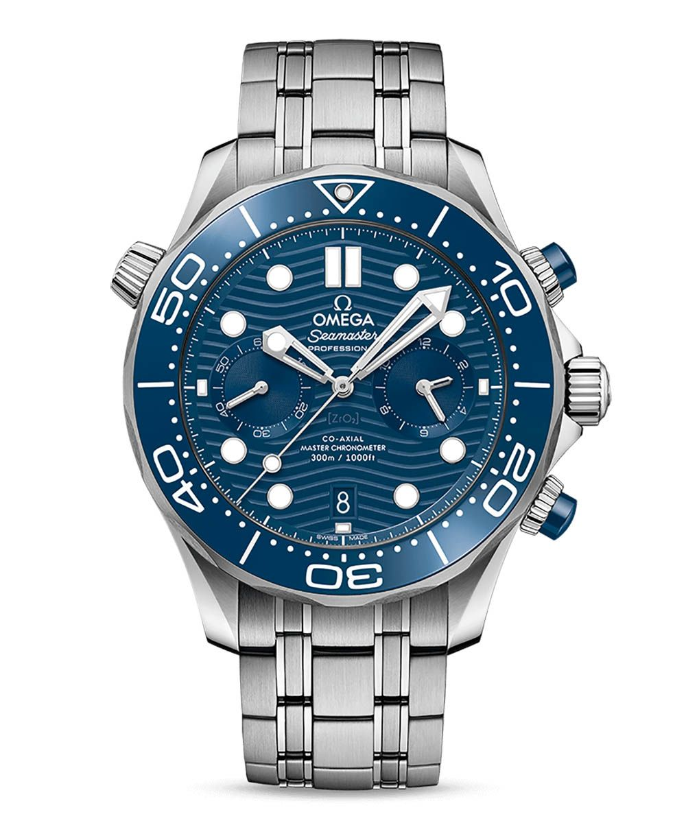 Omega Seamaster Diver 300M Co-Axial Master Chronometer Chronograph 44mm - Omega_21030445103001