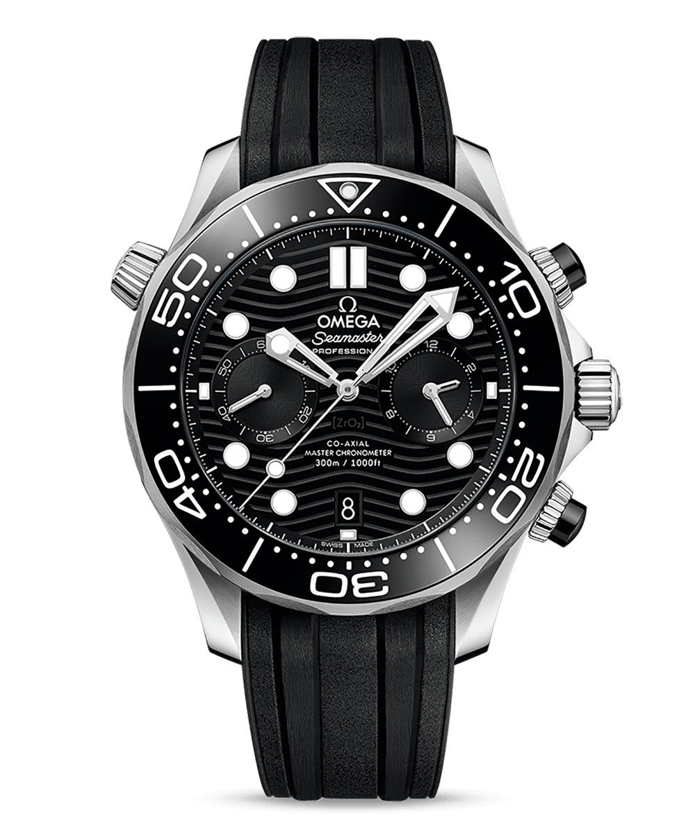 Omega Seamaster Diver 300M Co-Axial Master Chronometer Chronograph 44mm - Omega_21032445101001