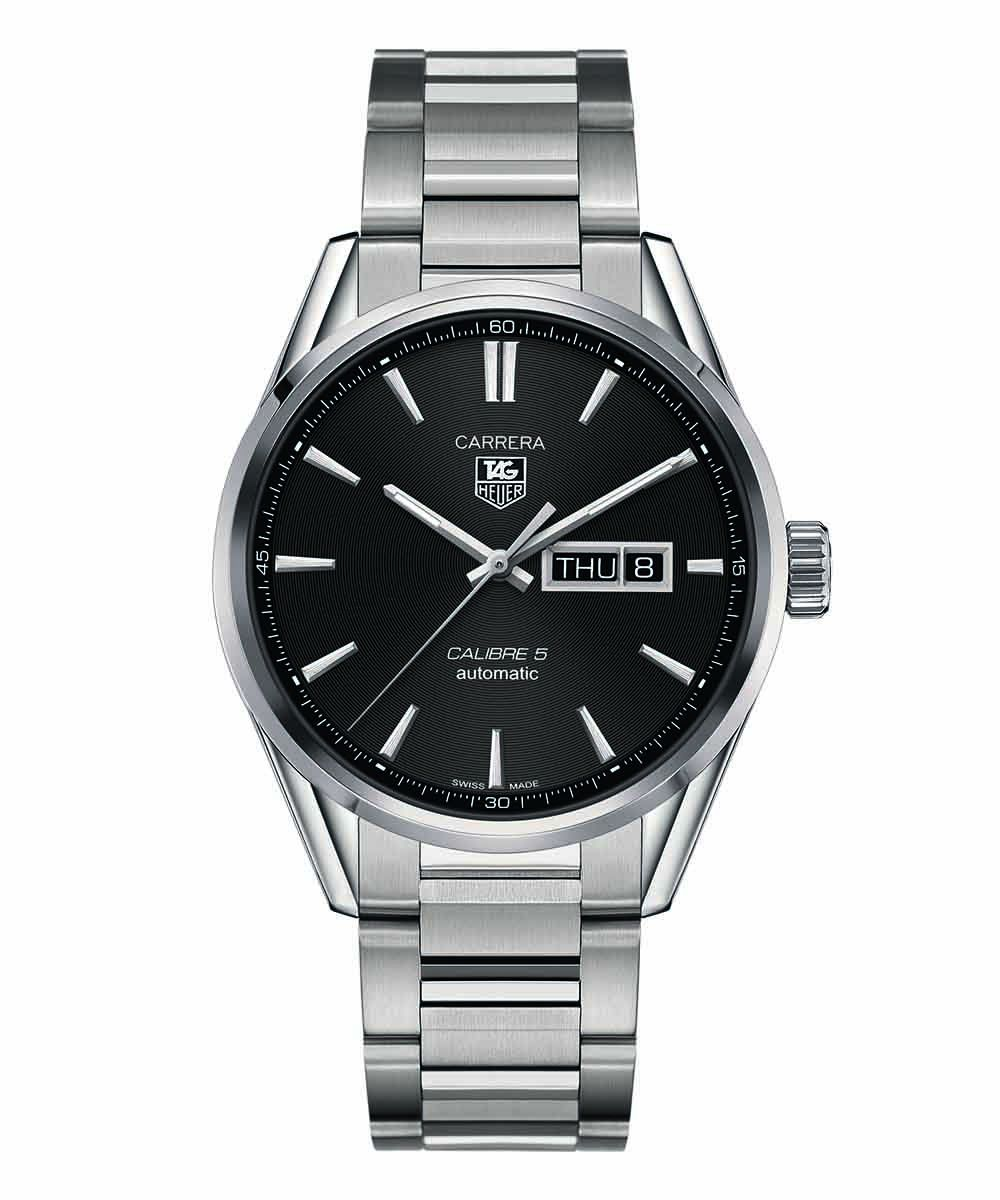 Tag Heuer Carrera Calibre 5 Day-Date - WAR201A.BA0723